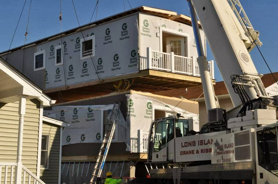 Modular Home Builder Express Builds Very Narrow Lot