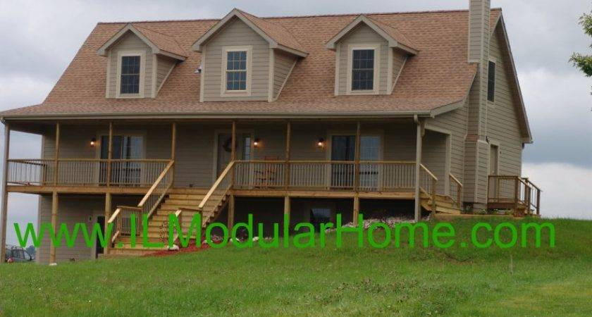 Modular Home Cape Cod Available Northern Illinois Southern