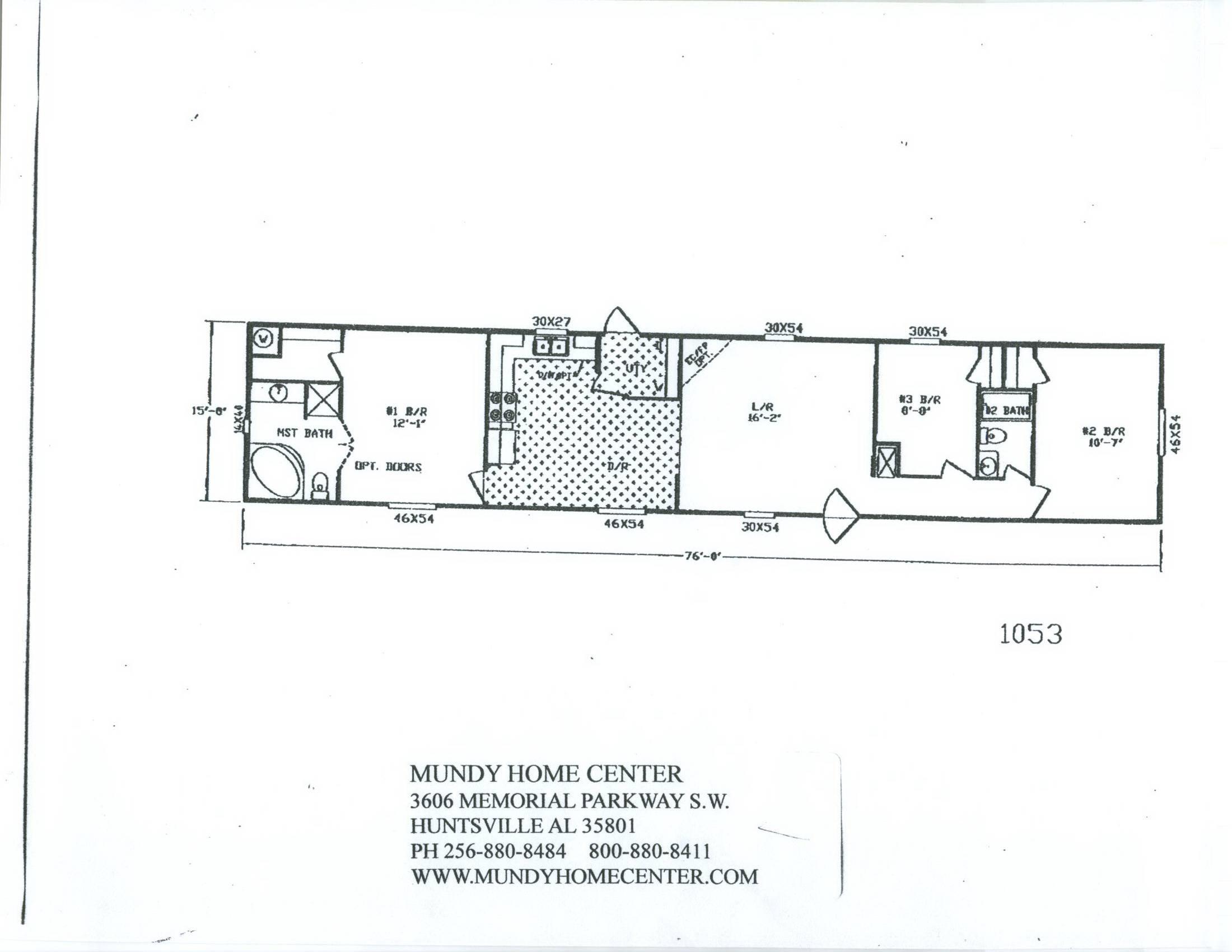 Modular Home Floor Plan Franklin Well Mobile