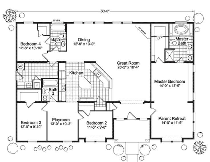 Modular Home Floor Plan Plans Pinterest