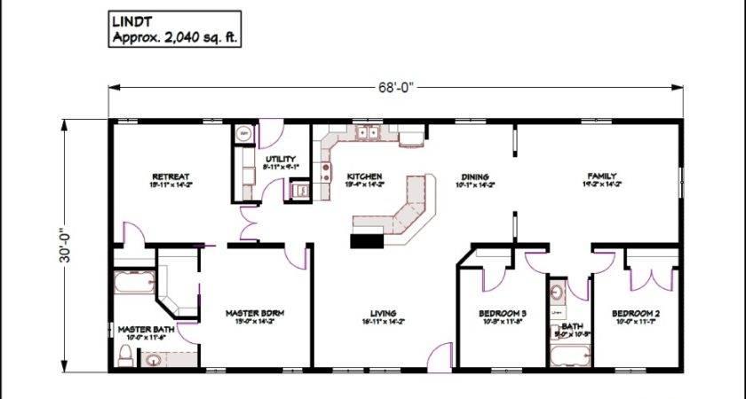 Modular Home Floor Plans Bungalow