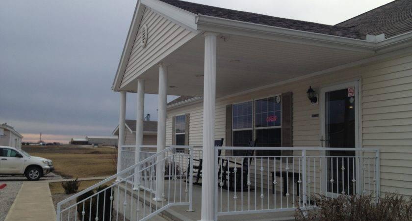 Modular Home Front Porch