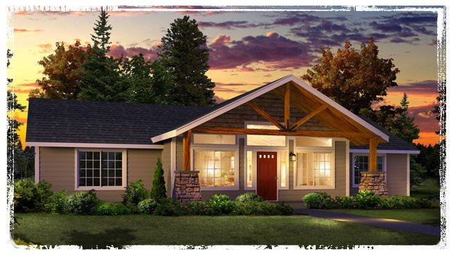 Modular Home Front Porches New Plan Large Timber Truss