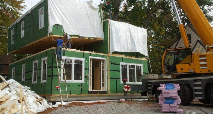 Modular Home Roof Construction