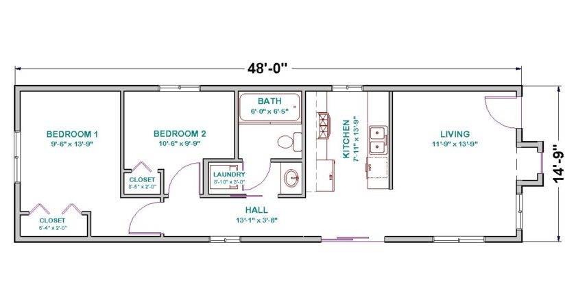 Modular Home Under Square Feet
