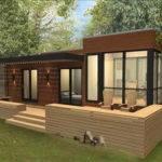 Modular Homes Cool Prefab Mail Order Home Designs