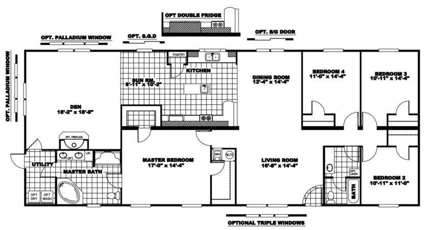 Modular Homes Floor Plans Luxury Clayton Home