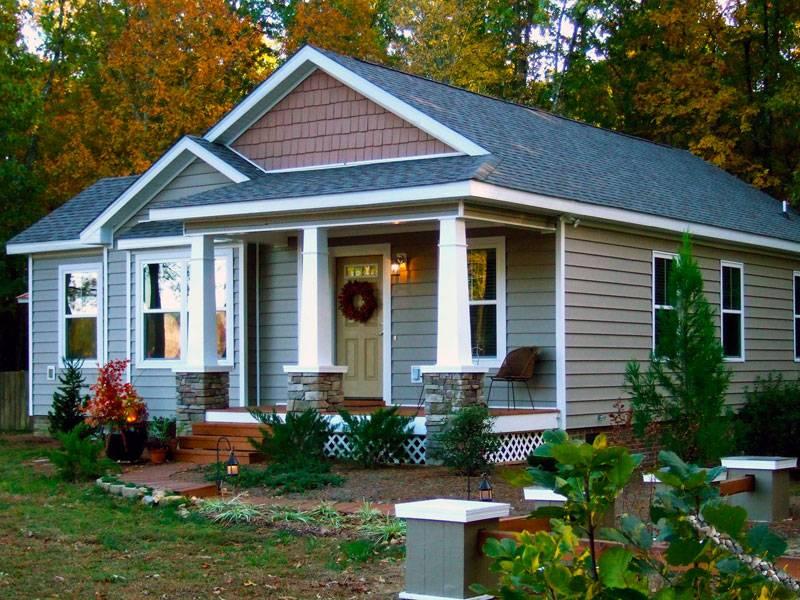 modular homes craftsman style