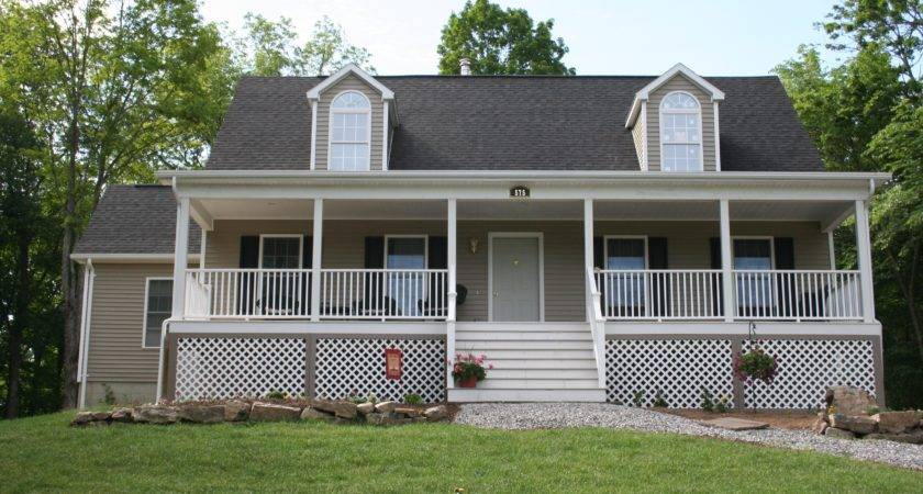 Modular Homes Large Porches
