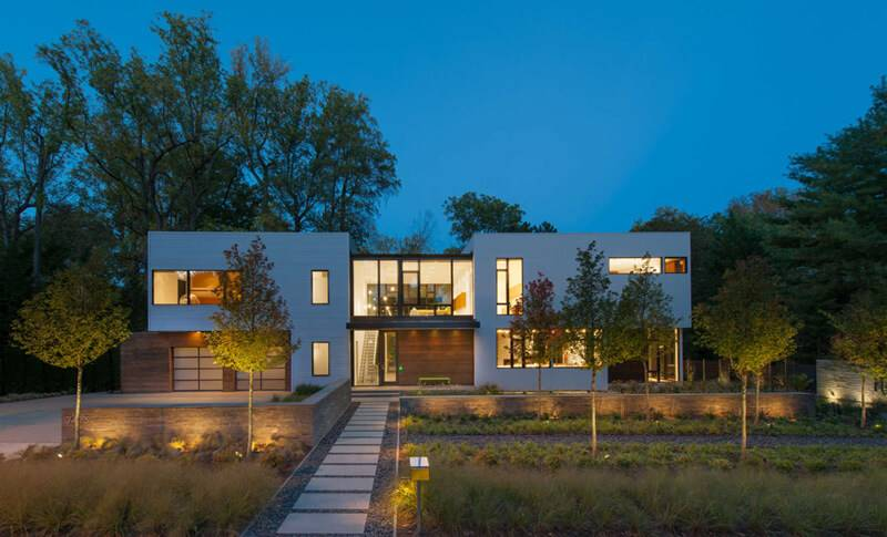 Modular House Goes Modern Maryland