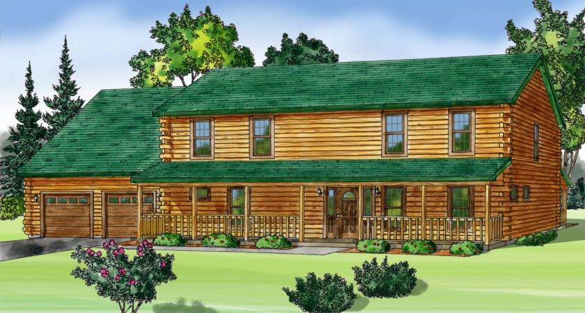 Modular Log Home Builders Homes
