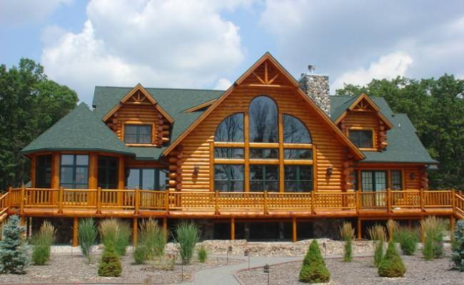 Modular Log Homes Prefabricated