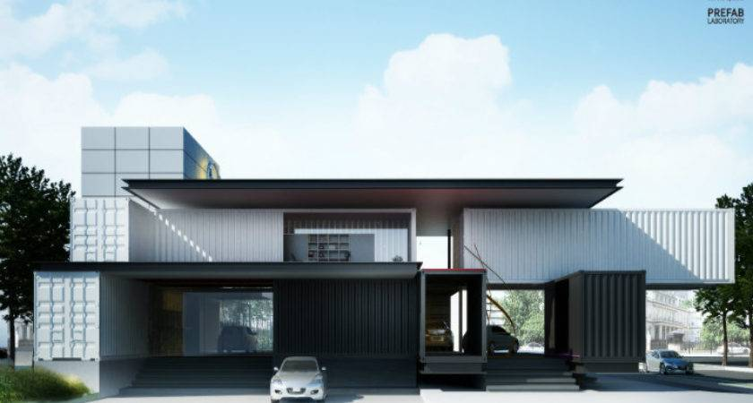Modular Mazda Shipping Container Car Dealership Built Phases