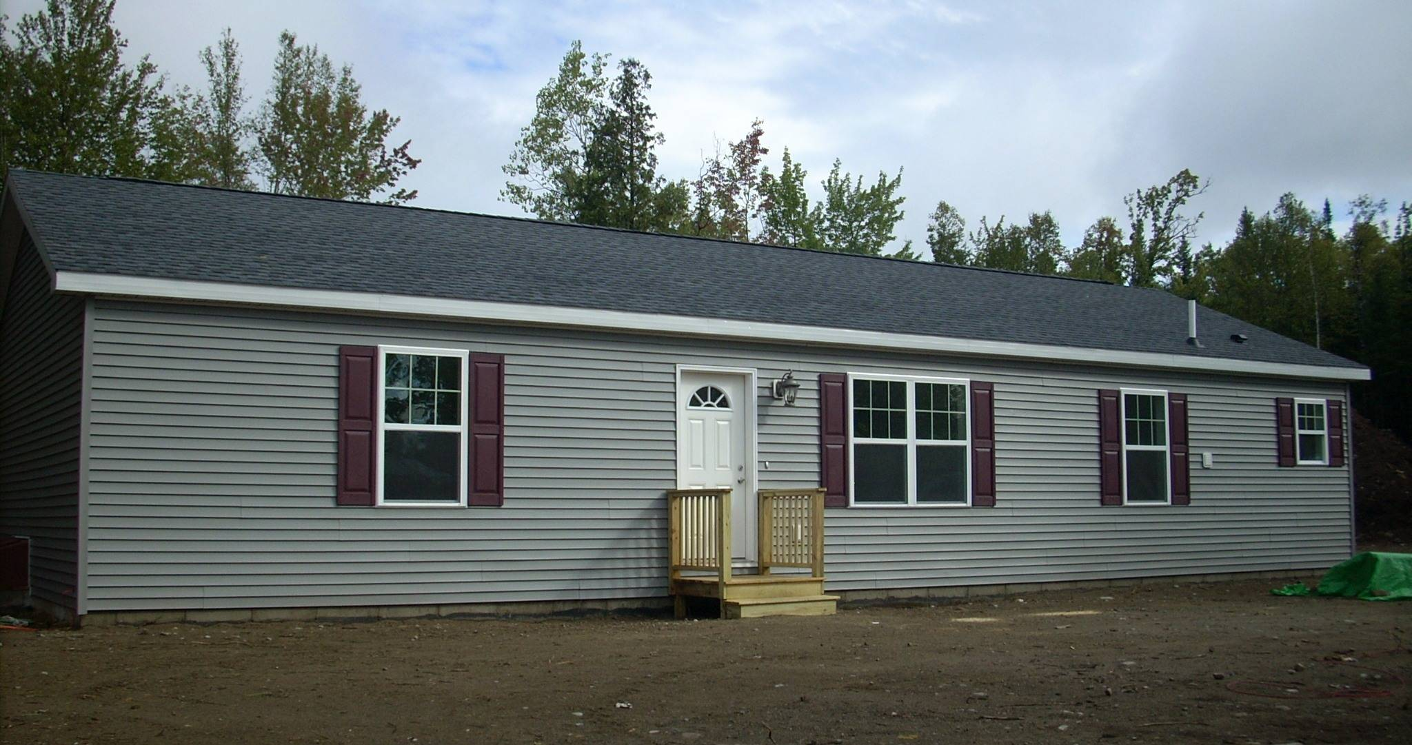Modular Ranch Home Complete Brookewood Builders