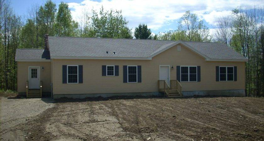 Modular Ranch Home Completed Brookewood Builders