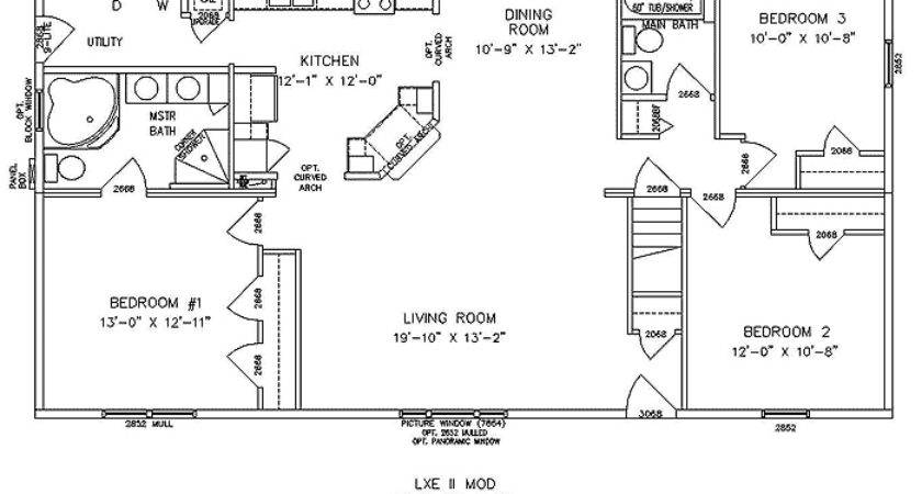 Modular Ranch Home Floor Plans Plan