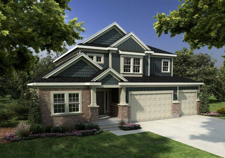 Montclair Traditional Rendering Ivory Home All Bedrooms