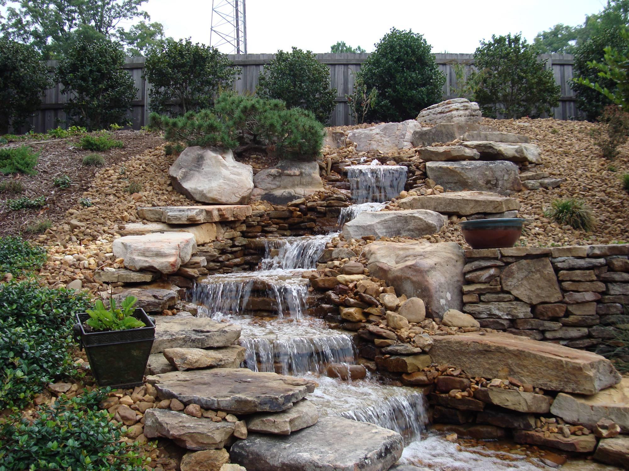 Morris Nursery Landscapes Inc Ponds Pools Portfolio