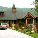 Mountain Lodge Architect Rand Soellner Designed Adirondack Style