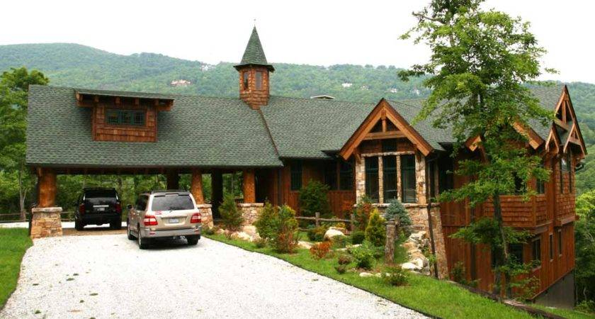 Mountain Lodge Architect Rand Soellner Designed Adirondack Style