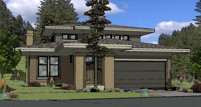 Muddy River Design Prairie Style House Plan Bend Oregon