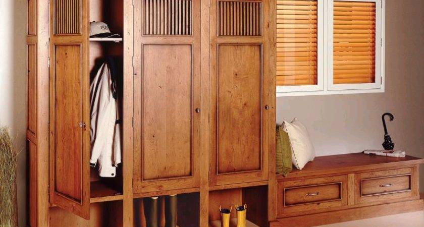 Mudroom Storage Lockers Can Turned Into Multipurpose Units