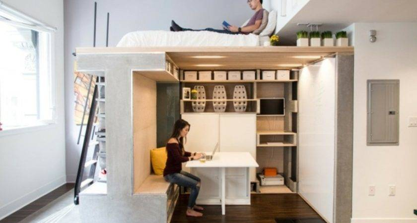 Multifunction Furniture Small Spaces Apartment