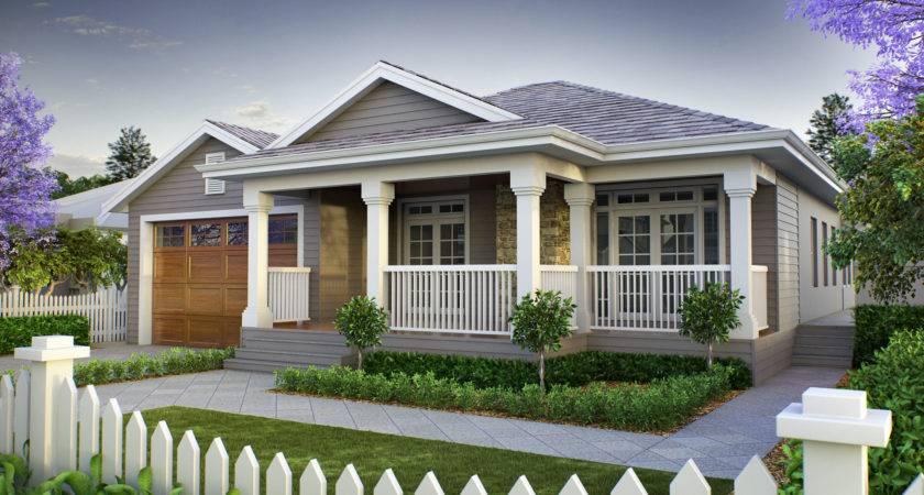 Narrow Lot House Plans Single Storey Homes Small