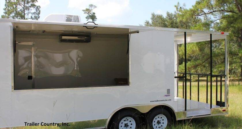 New Freedom Trailers Concession Vending Trailer