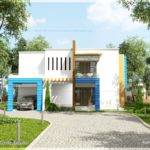 New Generation Contemporary House Exterior Home Kerala Plans
