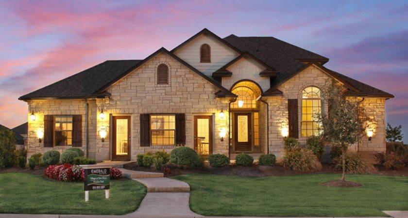 New Homes Villages Twin Rivers Estates Waco Texas