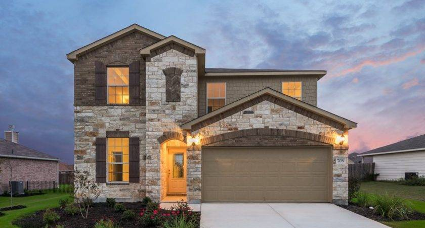 New Homes Yowell Ranch Killeen Centex Home Builders