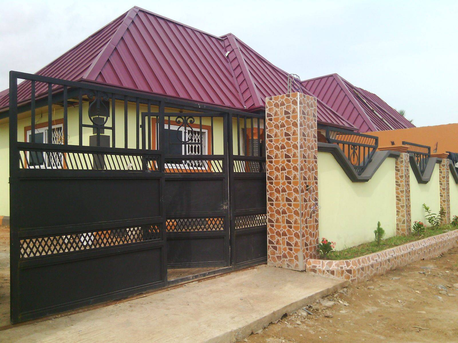 Newly Built Home Sale Pantang Houses Accra Oxglow Trader