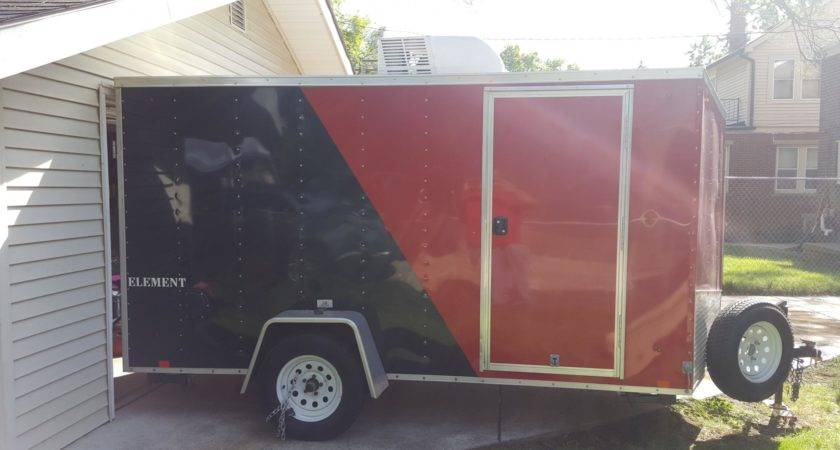 Nice Enclosed Pit Trailer Tech Forums