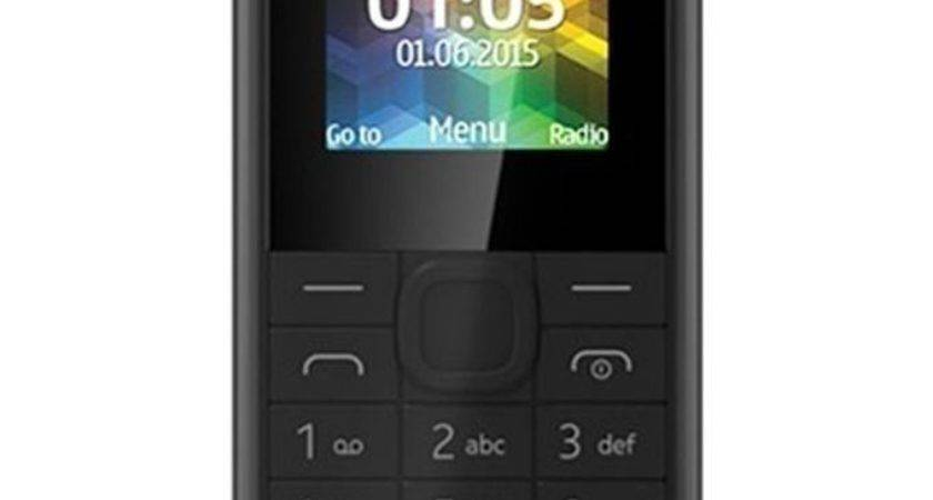 Nokia Black Unlocked Single Sim Basic Dust