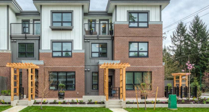 North Vancouver Townhomes Parkgate Texor Homes
