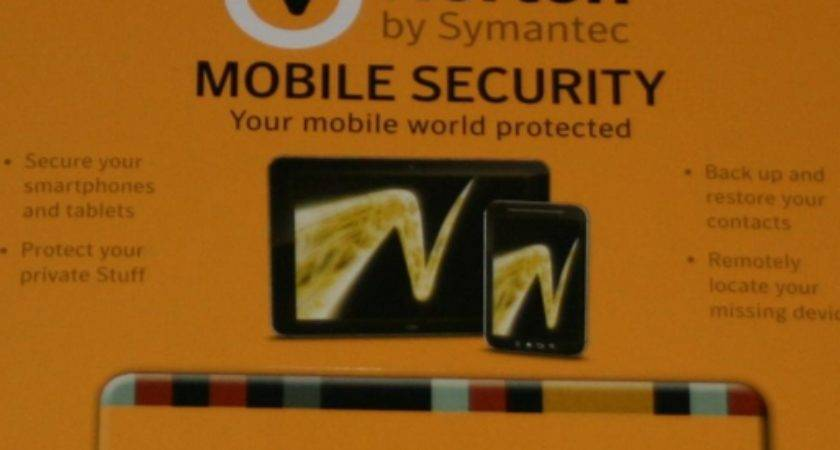 Norton Mobile Security Year Subscription