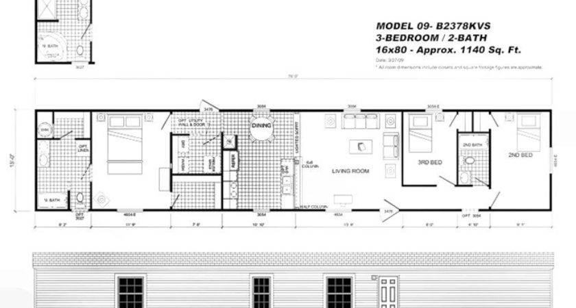 Oakwood Mobile Home Floor Plans Estate Buildings