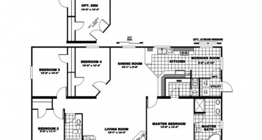 Oakwood Mobile Home Floor Plans Photos Bestofhouse