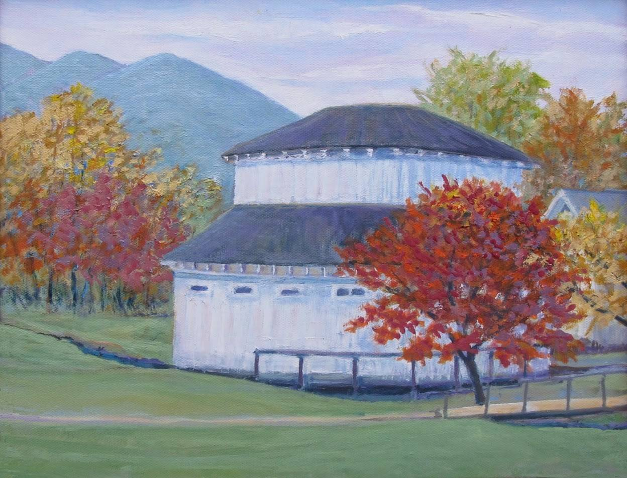 Oil Paintings Jefferson Pool House Warm Springs Bath County