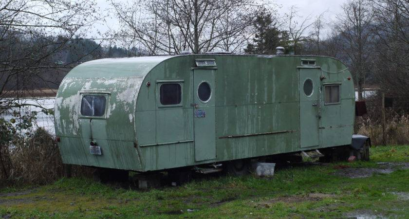Old Trailer Home Flickr Sharing