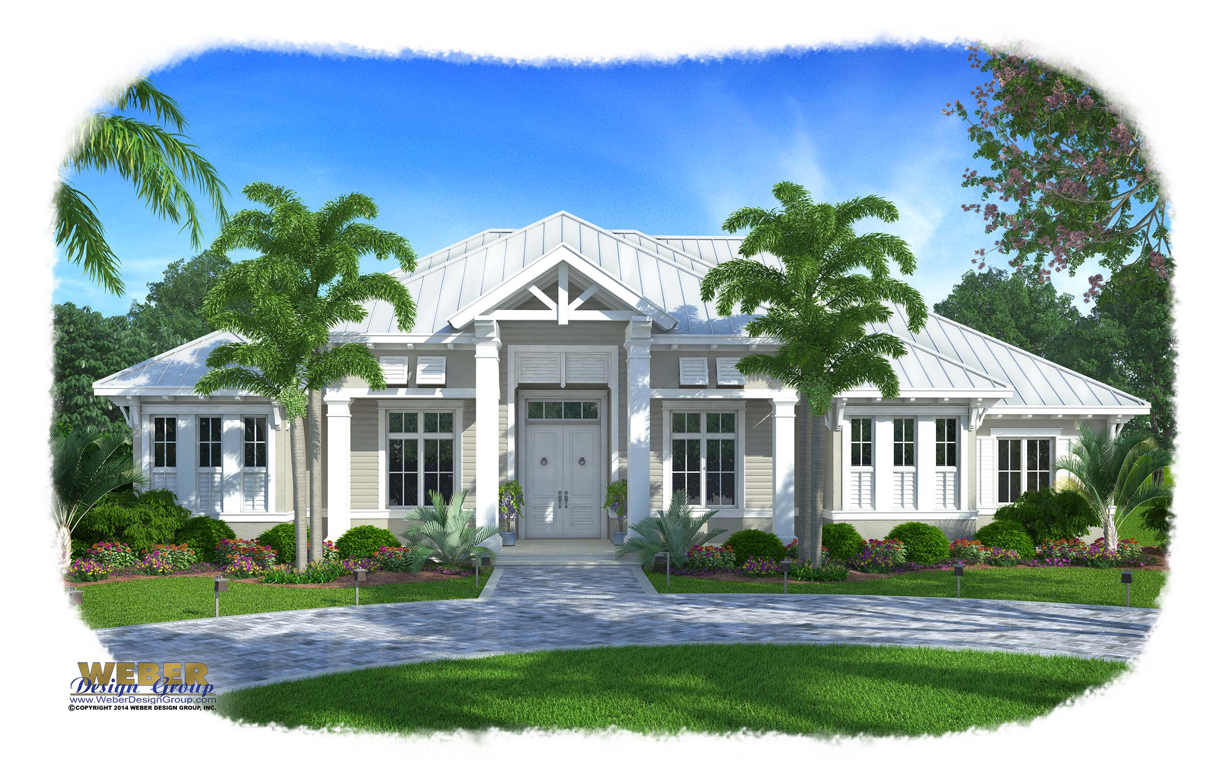 Olde Florida House Plan Barbados Weber Design Group