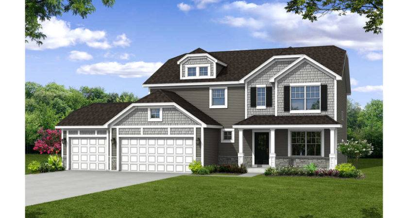 Olthof Homes House Plans Floor Sequoia