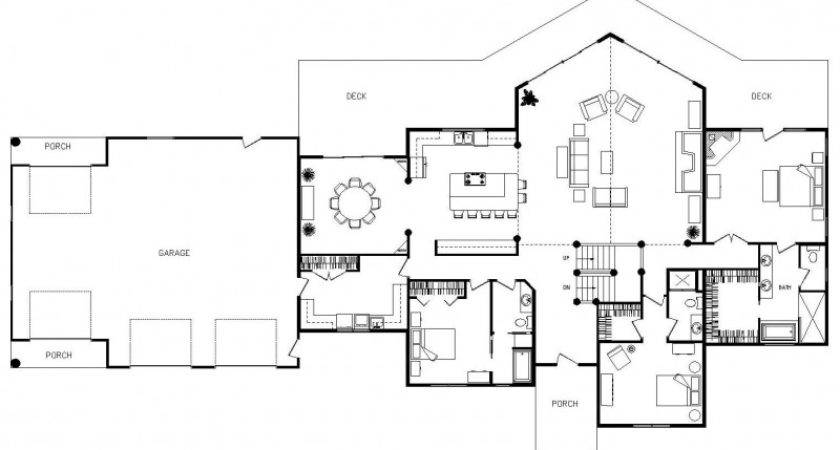 Open Concept Floor Plans Home Plan Collections