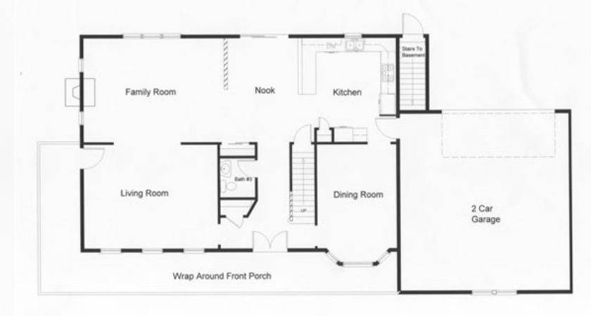 Open Floor Plan Provides Square Feet Modular Home Design