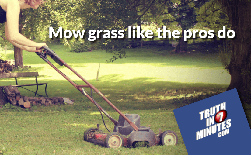 Optimal Lawn Mowing Patterns Mow Our Grass Best Way