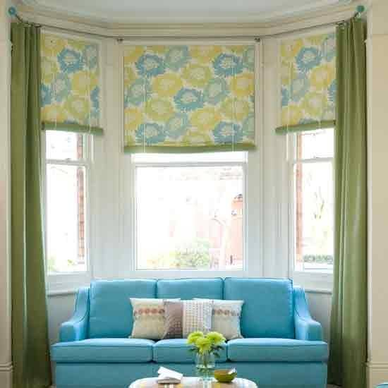 Options Bay Window Treatments Home Intuitive