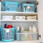 Organized Laundry Room