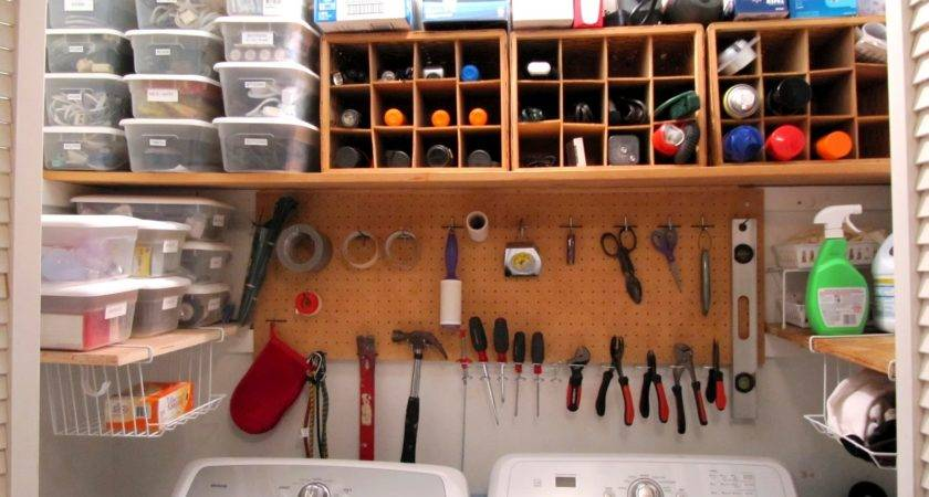 Organized Laundry Space Tools Sew Many Ways