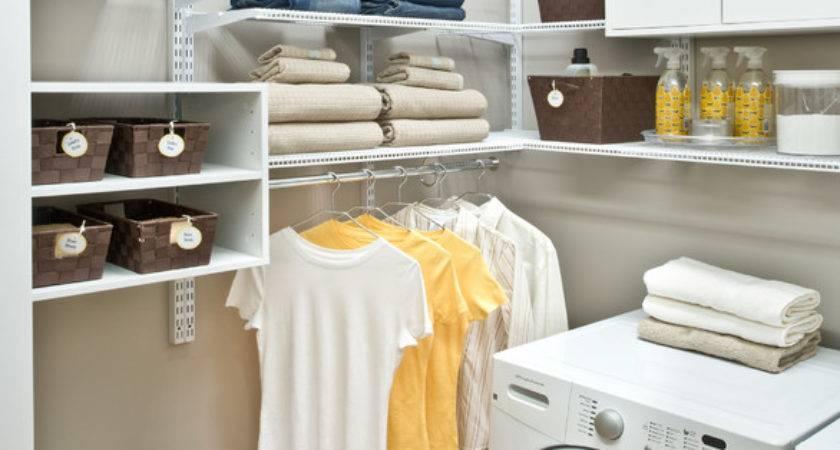 Organized Living Freedomrail Laundry Room Traditional
